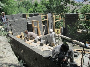 Construction of a community training centre funded by Solas