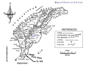Map of Chitral